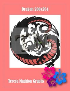 (4) Name: 'Crocheting : Dragon 200x204