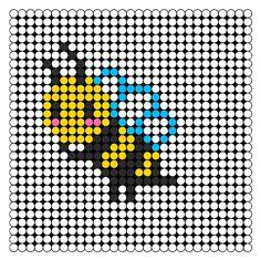 Honey Bee perler bead pattern