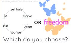 Which do you choose? #recovery #choosefreedom
