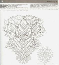 Crochet Knitting Handicraft: napkins new 2