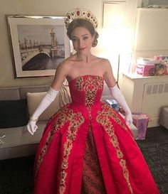 Anastasia on Broadway; this dress is beautiful!