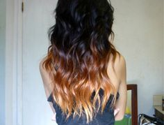 ombre hair EXACTLY what I've been looking for.