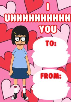 bob's burger valentine - Google Search