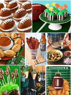 Bird's Party Blog: Superbowl Party Ideas Football
