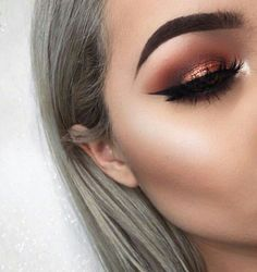 Ultimative Make-up-Ziele! Ultimate make up goals! - Das schönste Make-up Gorgeous Makeup, Pretty Makeup, Love Makeup, Makeup Inspo, Makeup Inspiration, Makeup Style, Gorgeous Lady, Flawless Makeup, Beautiful Eyes