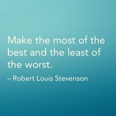 Make the most of the best...