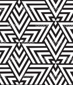 Vector Geometric Seamless Pattern Modern Triangle Texture Repe Royalty Free Stock Art