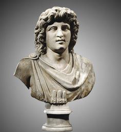 Alexander The Great Bust:Roman 1st century A.D.