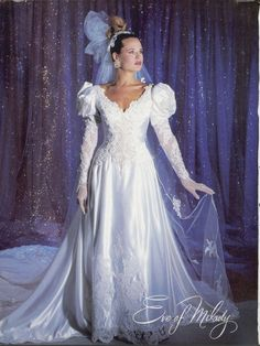 I love Eve of Milady gowns! Feb/Mar Brides 1986