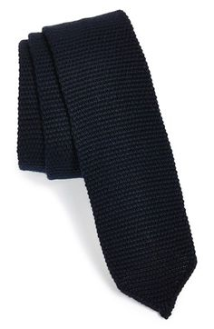 Men's BOSS Knit Cotton Tie