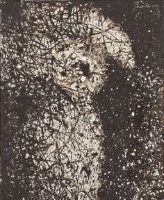 Mario Prassinos (1916-1985) - Bouquet de Seurat, Huile sur toile, 1963