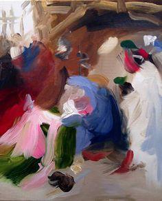 """Saatchi Art Artist Elise Ansel; Painting, """"Blue I"""" #art"""