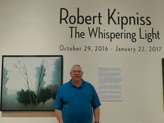Robert Kipniss - Fort Wayne Museum of Art. Kipniss is one of my all time favorites. It was great to see so much of his work in one place.