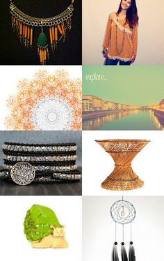 Bohemian Heart Attack 16 Shops  by Elinor Levin on Etsy--Pinned with TreasuryPin.com