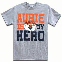 T-Shirt, Aubie Is My Hero | Auburn University Bookstore