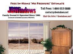 Call or contact JB Windows for a free, no pressure, in home consultation that will educate you for YOUR future window needs.