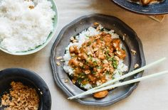 Csicseriborsós-répás curry   Lila füge Chipotle, Wok, Chana Masala, Fried Rice, Pesto, Risotto, Curry, Chili, Easy Meals