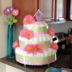 Another spring time baby shower for girl