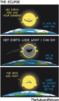 The Awkward Yeti Comic Strip, October 12, 2014 on GoComics.com