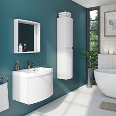 Enhance your bathroom storage with our range of stylish & affordable bathroom furniture, including bathroom units, bathroom cabinets & designer vanity units. Black Bathroom Furniture, Contemporary Bathroom Furniture, Modern Bathroom, Mirror Cabinets, Bathroom Cabinets, Bathroom Storage Units, Bathroom Trends, Bathroom Ideas, Vanity Units