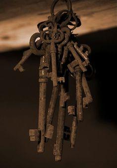 .Rusty keys, be still my beating heart