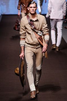 Etro Spring 2014 Menswear Collection Slideshow on Style.com
