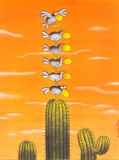 Book Drawing, Humor Grafico, Funny Cartoons, Satire, Graphic, Caricature, Illustrators, Illusions, Cactus