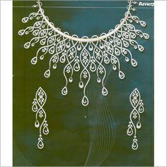 diamond necklace design