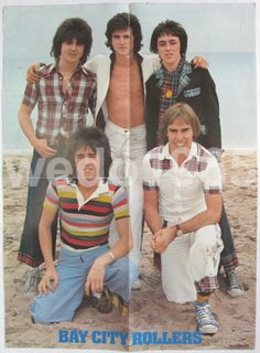 Bay City Rollers Japan Poster