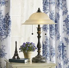 I Got A Beautiful Antique Frosted Glass Lamp From An Estate Sale With My  Aunt For