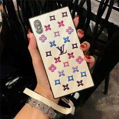 ルイヴィトン モノグラム iPhoneX/XSケース ストラップ付き iPhone8/9カバー Phone Cases, Phone Case