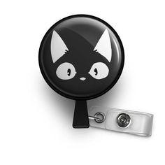 cat lover nurse badge reel