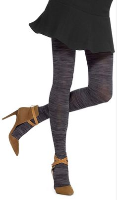 Hue Melange Tights - See more tights at www.fashion-tights.net ‪#tights #pantyhose #hosiery #nylons #fashion #legs‬ #legwear #advertising #influencer #collants