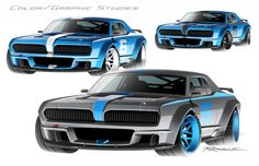 Full Throttle, Car Drawings, Automotive Design, Concept Cars, Muscle Cars, Touring, Mercury, Vehicles, Designers