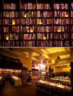 Why Anne Hathaway is my hero. Anne Hathaway had her engagement party in NYC at Housing Works Bookstore and Cafe
