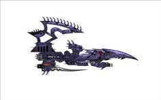 Torture Class Dark Eldar Cruiser - Battlefleet Gothic