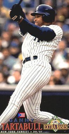 Damn Yankees, New York Yankees Baseball, Danny Tartabull, Trading Cards, Mlb, Baseball Cards, Sports, Athletes, Cave