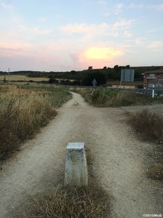 Leaving Belorado early in the morning #Camino 2015 july McG