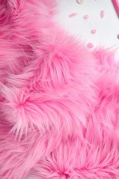 Bubblegum Pink Fur Fabric in Craft Squares- Pink Fur Fabric, Pink Fake Fur, Carnation Pink Faux Fur Pink Love, Pretty In Pink, Hot Pink, Pink Faux Fur, Fake Fur, Pink Walls, Everything Pink, Bubblegum Pink, Pink Aesthetic