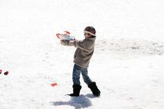 Es el momento perfecto para probar mi pistola de bolas de nieve #juguetes #kids #imaginarium