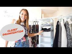 Οργάνωση της ντουλάπας μου! | Evi Stathatou - YouTube Organization, Organizing, Closet, Youtube, Home Decor, Getting Organized, Organisation, Armoire, Decoration Home