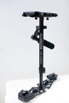 The Glidecam HD2000, great for smooth motion on DSLRs.