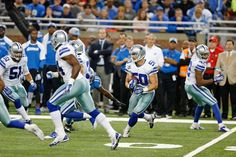 what a game by Sean Lee! two interceptions during the 1st half!!