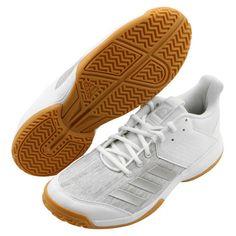 the latest 98285 8edc2 adidas LIGRA 6 Badminton Shoes Unisex White Indoor Racket Racquet adiWEAR  CP8907 adidas