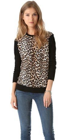 Equipment Roland Underground Leopard Sweater