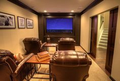 See how these Atlanta homes built a better basement Basement Remodel Diy, Basement Remodeling, Basement Ideas, Basement Stair, Stairs, Basement Plans, Basement Designs, Remodeling Ideas, Home Theater Furniture