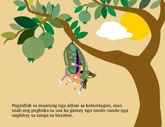 Ang Mapahitas-on nga Mariposa Kids Story Books, Stories For Kids, Picture Story, Tagalog, Beautiful Gardens, Christmas Ornaments, Holiday Decor, Pictures, Photos