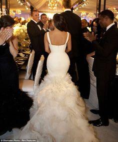 Kim Kardashian Wedding Dresses by Vera Wang   Wedding
