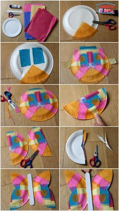A butterfly in a paper plate – Idea cabin plate-butterfly-paper-m … - Spring Crafts For Kids Paper Plate Crafts For Kids, Spring Crafts For Kids, Summer Crafts, Art For Kids, Vintage Nature Photography, Spring Art, Art Lessons Elementary, Camping Crafts, Preschool Art