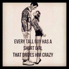 In love with a short girl? She'll love these quotes! Here are the best funny short girl quotes that will make you and your fun-sized partner laugh out loud. Tall Boy Short Girl, Tall Boys, Short Girls, Short Couples, Tall Man, Short People Problems, Short Girl Problems, Short People Humor, Short People Quotes